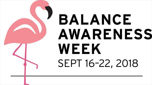 Balance Awareness Week 16-22 sept